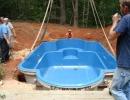Vgradnja poliesterskega bazena